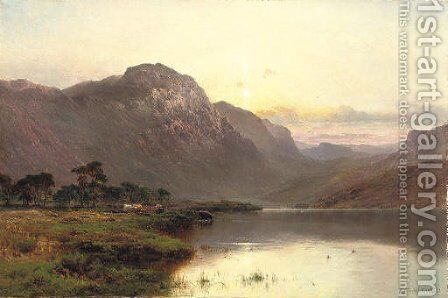 Summer Showers, Perth by Alfred de Breanski - Reproduction Oil Painting