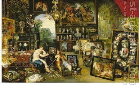 Sight by Jan, the Younger Brueghel - Reproduction Oil Painting