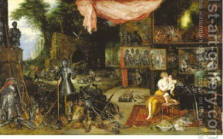 Touch by Jan, the Younger Brueghel - Reproduction Oil Painting