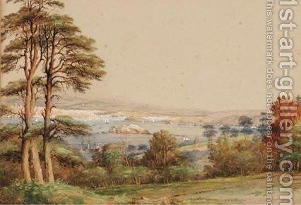 View Of Plymouth Sound by Nicholas Matthews Condy - Reproduction Oil Painting