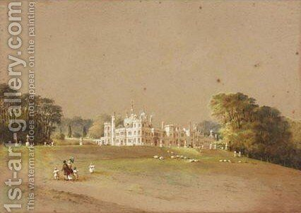 View Of Mount Edgcumbe by Nicholas Matthews Condy - Reproduction Oil Painting