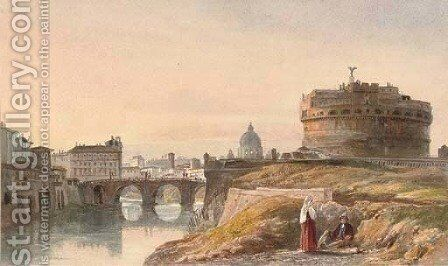 Castel Sant'Angelo, Rome by Harriet Cheney - Reproduction Oil Painting