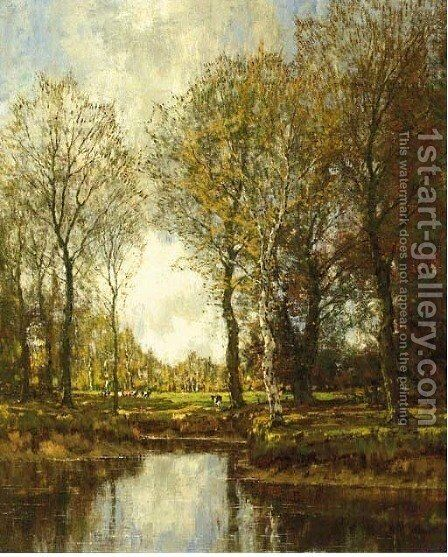 Summer by Arnold Marc Gorter - Reproduction Oil Painting