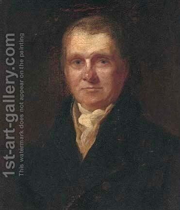 Portrait of Sir James Gibson Craig, Bart. by Colvin Smith - Reproduction Oil Painting