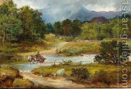 Near Callander by David George Steell - Reproduction Oil Painting