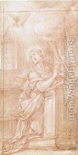 The Virgin Annunciate by Camillo Procaccini - Reproduction Oil Painting