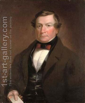 Portrait of John Turner Esq. by (after) Pickersgill, Henry William - Reproduction Oil Painting