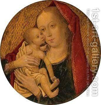 The Virgin and Child 2 by (after) Memling, Hans - Reproduction Oil Painting
