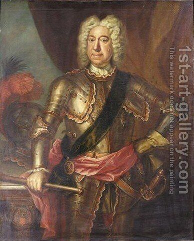 Portrait Von General Carpenter by Martin Maingaud - Reproduction Oil Painting