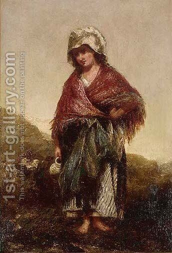 The water carrier by Charles James Lewis - Reproduction Oil Painting