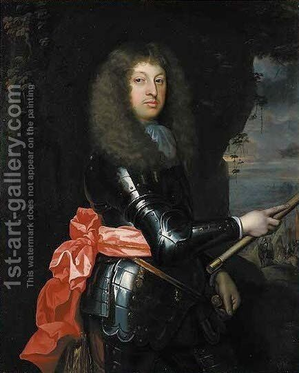 Portrait of Charles, 5th Earl of Haddington by (after) Huysmans, Jacob - Reproduction Oil Painting