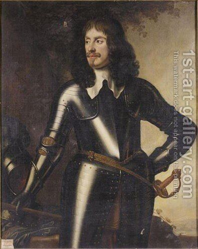 Portrait Von Wilhelm Graf Craven by (after) Honthorst, Gerrit van - Reproduction Oil Painting