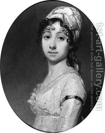 Portrait of Marie Henriette Massac (1780-1853) by Charles Howard Hodges - Reproduction Oil Painting