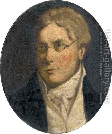 Portrait of George Gardner, son of Daniel Gardner, of Birthwaite Hall, Windermere by (after) Constable, John - Reproduction Oil Painting