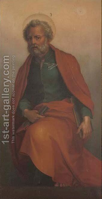 Saint Peter by (after) Andrea Del Sarto - Reproduction Oil Painting