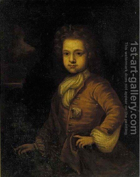 Portrait of Richard Clark Trench by (after) Charles D'Agar - Reproduction Oil Painting