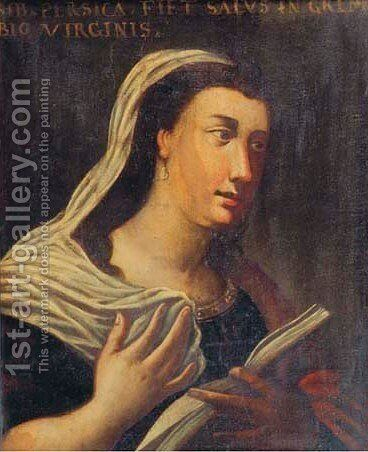 Sybil 2 by (after) Cristofano Allori - Reproduction Oil Painting