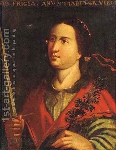 Sybil by (after) Cristofano Allori - Reproduction Oil Painting
