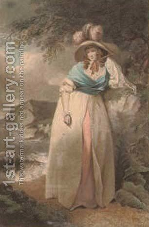 Variety by (after) George Morland - Reproduction Oil Painting