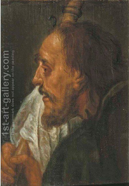 Saint James the Greater by (after) Giovanni Battista Piazzetta - Reproduction Oil Painting