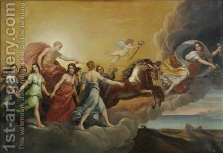 Aurora 2 by (after) Guido Reni - Reproduction Oil Painting