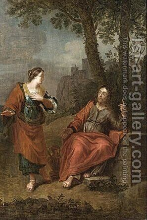 Noli Me Tangere by (after) Januarius Zick - Reproduction Oil Painting