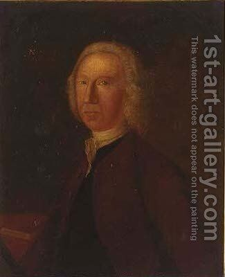 Portrait of Rowland Lacon by (after) John Theodore Heins - Reproduction Oil Painting