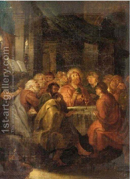 The Last Supper by (after) Pierre Subleyras - Reproduction Oil Painting
