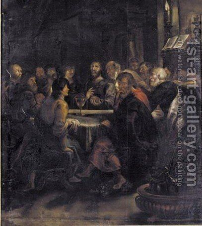 The Last Supper by (after) Sir Peter Paul Rubens - Reproduction Oil Painting
