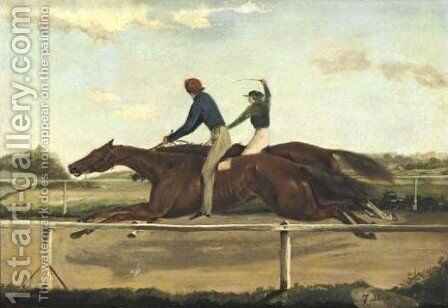 The Fashion- Boston Match by American School - Reproduction Oil Painting