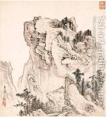 Landscape 3 by Cheng Zhengkui - Reproduction Oil Painting