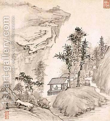 Landscape by Cheng Zhengkui - Reproduction Oil Painting