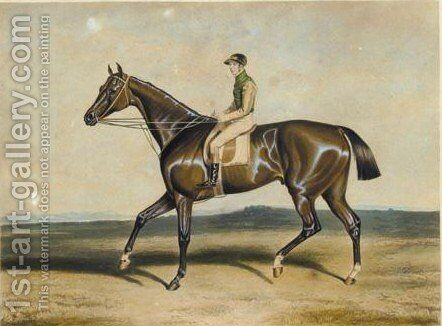 Engravings Of Horses by Continental School - Reproduction Oil Painting