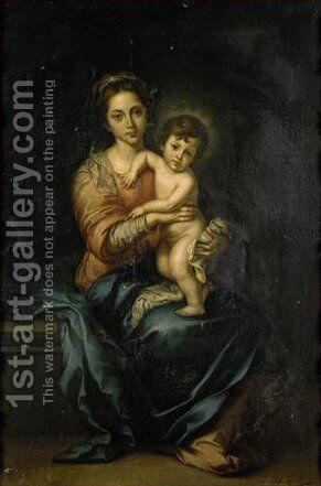 The Madonna And Child by Giulia Cheli Capella - Reproduction Oil Painting