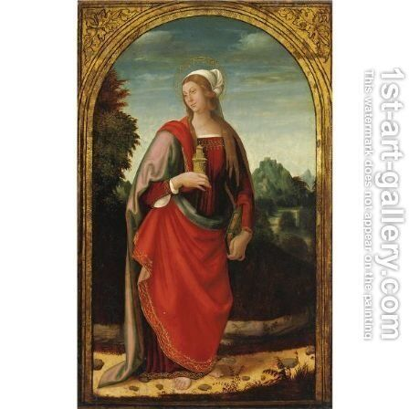 Maddalena 2 by Italian School - Reproduction Oil Painting