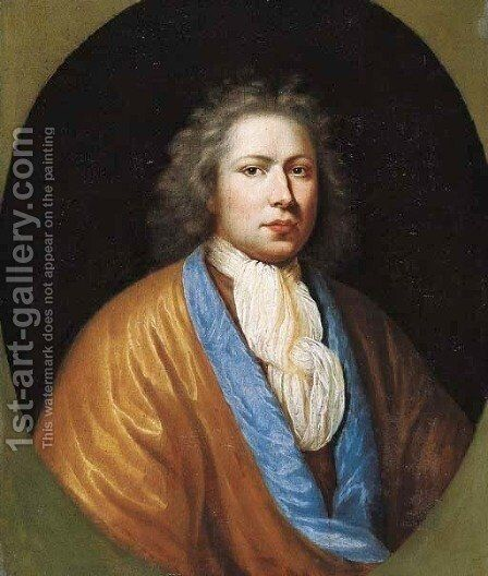 Portrait of Johan Florence de Neree (1672-1725) by Jan Brouwer - Reproduction Oil Painting