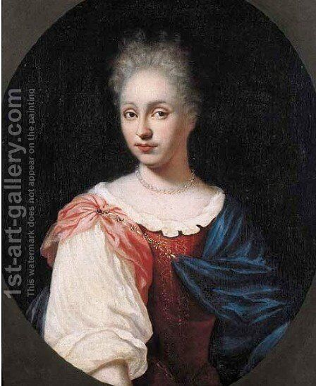 Portrait of Johan Florence de Neree's wife by Jan Brouwer - Reproduction Oil Painting