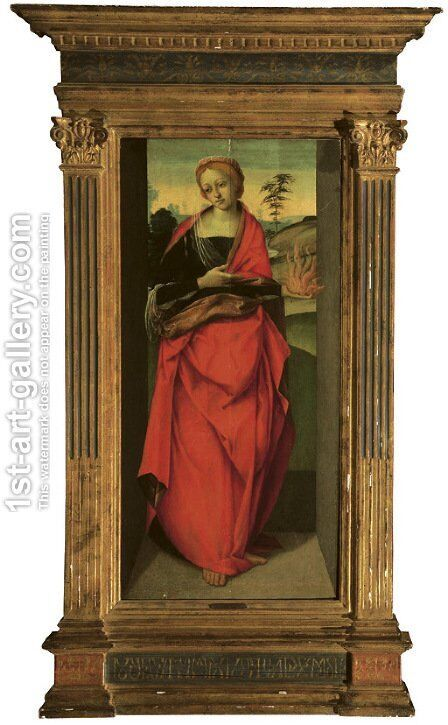 An Allegorical Figure of Faith by Michelangelo Di Pietro - Reproduction Oil Painting