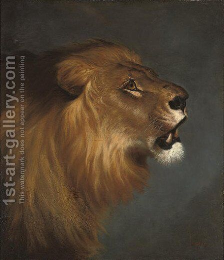 Lord of the pride by Stanley Wilson - Reproduction Oil Painting