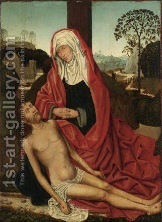 Pieta by (after) Adriaen Isenbrant - Reproduction Oil Painting
