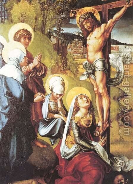 The Seven Sorrows of the Virgin, middle panel 2 by Albrecht Durer - Reproduction Oil Painting