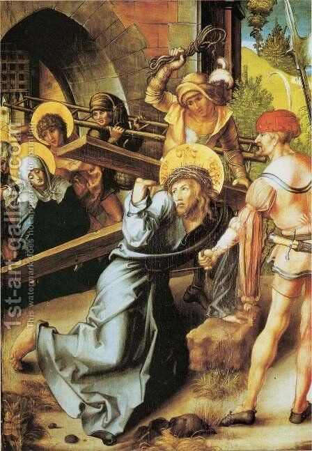 The Seven Sorrows of the Virgin, middle panel 5 by Albrecht Durer - Reproduction Oil Painting