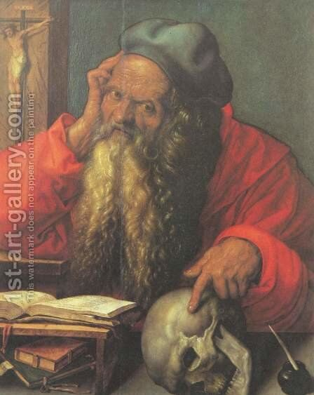 Saint Jerome by Albrecht Durer - Reproduction Oil Painting
