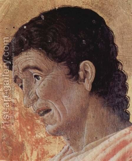 Altarpiece of St. Luke, detail St. John the Evangelist by Andrea Mantegna - Reproduction Oil Painting
