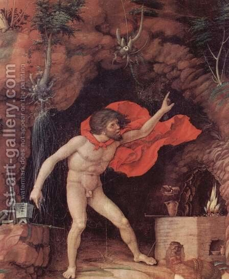 The Parnassus, detail 2 by Andrea Mantegna - Reproduction Oil Painting