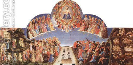 The Last Judgement 2 by Angelico Fra - Reproduction Oil Painting