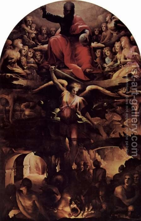 Inferno by Domenico Beccafumi - Reproduction Oil Painting