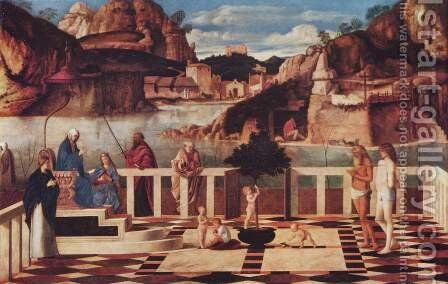 Allegory of purgatory by Giovanni Bellini - Reproduction Oil Painting