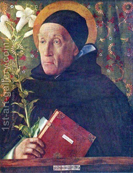 St. Dominic by Giovanni Bellini - Reproduction Oil Painting