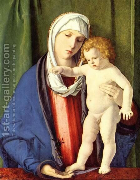 Madonna by Giovanni Bellini - Reproduction Oil Painting